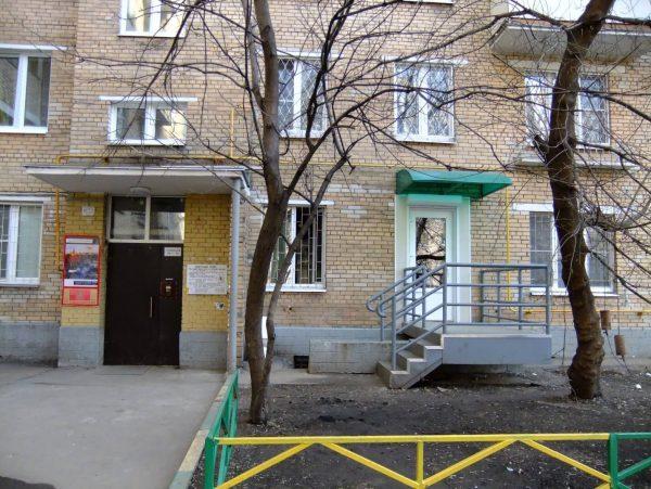 Здание снаружи Банный переулок 2 стр 1